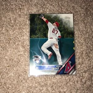 Mike Trout Topps Card